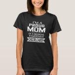 I'M A PROUD CHEERLEADER's MOM T-Shirt