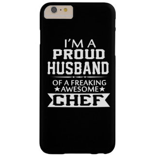 I'M A PROUD CHEF's HUSBAND Barely There iPhone 6 Plus Case