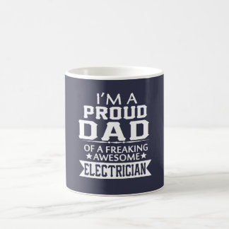 I'M A PROUD ELECTRICIAN's DAD Coffee Mug