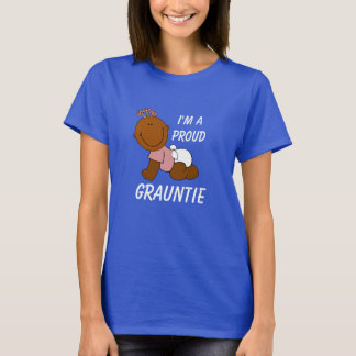 """I'm A Proud Grauntie"" with Cute Baby T-Shirt"