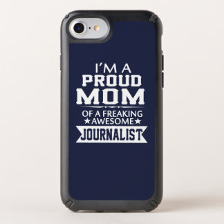 I'M A PROUD JOURNALIST'S MOM SPECK iPhone CASE
