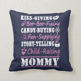 I'M A PROUD MOMMY! THROW PILLOW