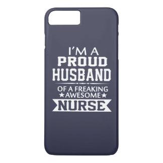 I'M A PROUD NURSE's HUSBAND iPhone 8 Plus/7 Plus Case