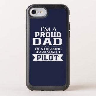 I'M A PROUD PILOT'S DAD SPECK iPhone CASE