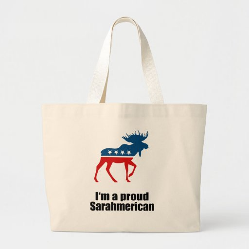I'm a proud Sarahmerican - Bags