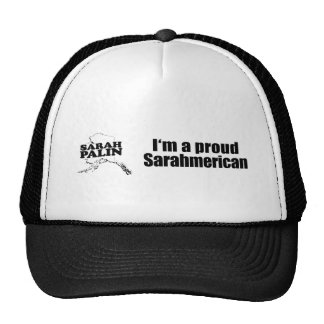 I'm a proud Sarahmerican - Trucker Hat