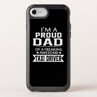 I'M A PROUD TAXI DRIVER'S DAD SPECK iPhone CASE