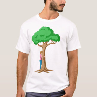 I'm A Proud Tree Hugger T-Shirt