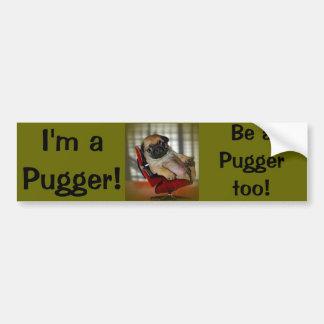 I'm a Pugger! Car Bumper Sticker