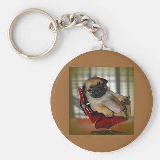 I'm a Pugger! Keychain
