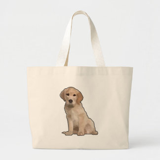 I'm a Puppy Large Tote Bag