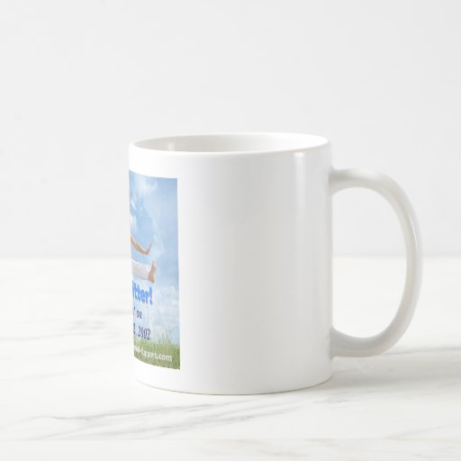 I'm a quitter! (customizable image) classic white coffee mug