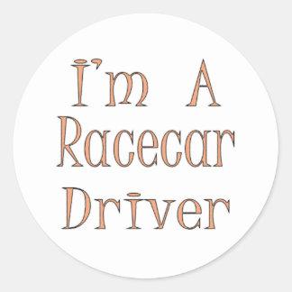 I'm A Racecar Driver Sticker