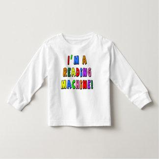 I'm a Reading Machine! Toddler T-shirt
