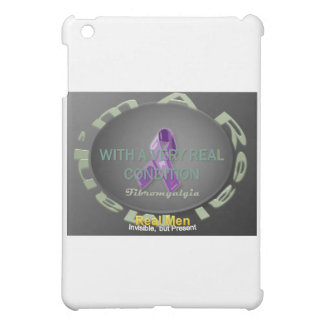 I'm A Real Man with a Real Condition iPad Mini Cover