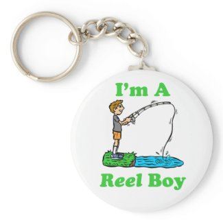 I'm A Reel Boy Keychain keychain
