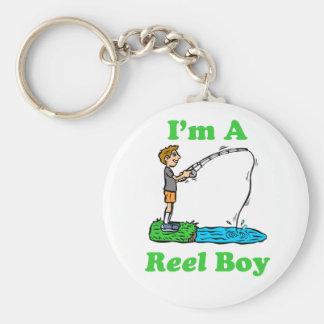 I'm A Reel Boy Keychain