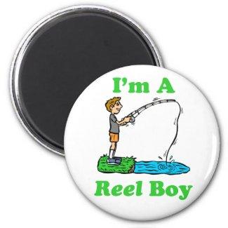 I'm A Reel Boy Magnet magnet