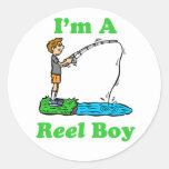 I'm A Reel Boy Sticker