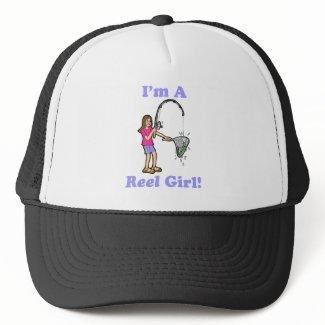 I'm A Reel Girl Hat hat