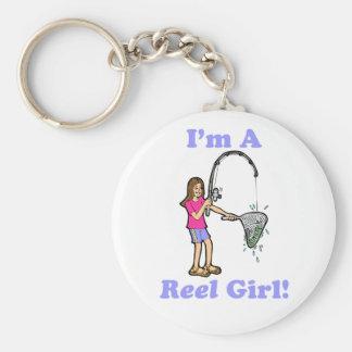 I'm A Reel Girl Keychain