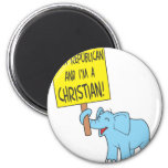 I'm a Republican and a Christian Magnet