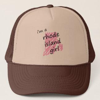 I'm a Rhode Island Girl Trucker Hat