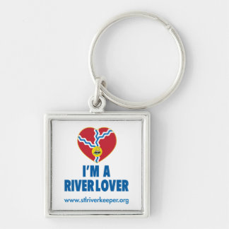 I'm a River Lover Keychain