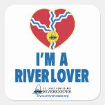 I'm a River Lover Sticker