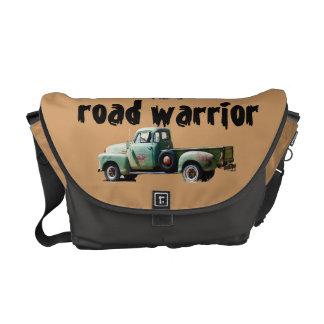 I'm a Road Warrior Vintage Truck Messenger Bag