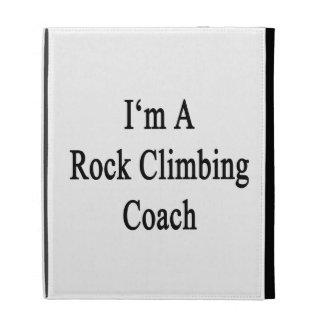 I'm A Rock Climbing Coach iPad Folio Covers