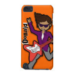 """I'm a Rockstar"" orange dark boy name ipod case iPod Touch (5th Generation) Covers"
