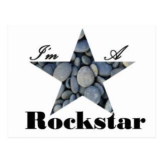 I'M A Rockstar Postcard
