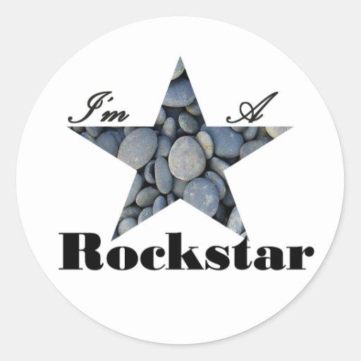 I'M A Rockstar Stickers