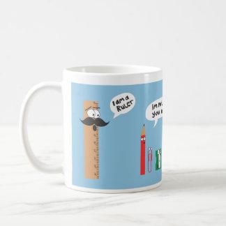 im a ruler classic white coffee mug