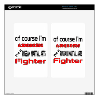 I'm a Russian Martial Arts Fighter Kindle Fire Decals