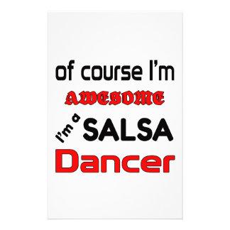I'm a Salsa Dancer Stationery