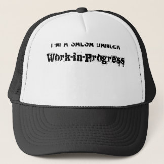 I'm a salsa dancer work in progress trucker hat