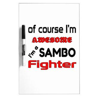 I'm a Sambo Fighter Dry-Erase Board