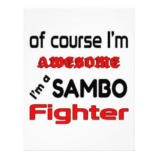 I'm a Sambo Fighter Letterhead