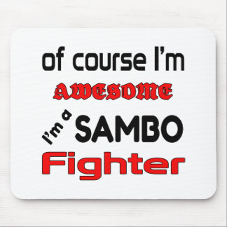 I'm a Sambo Fighter Mouse Pad