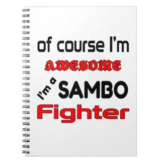 I'm a Sambo Fighter Notebook