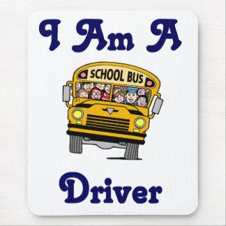 I'm a School Bus Driver mousepad