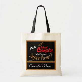 I'm A School Counselor, What is your Super Power? Tote Bag