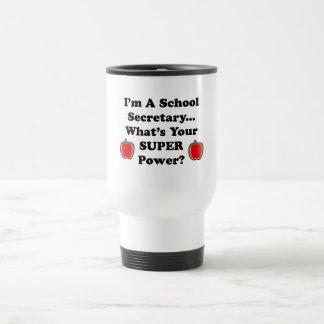 I'm a School Secretary 15 Oz Stainless Steel Travel Mug