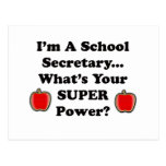 I'm a School Secretary Postcard