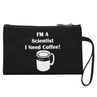 I'M A Scientist, I Need Coffee! Wristlet Wallet