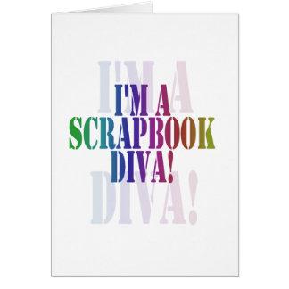 I'm a scrapbook diva unioneight union+eight peacoc card