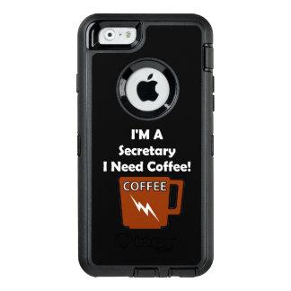 I'M A Secretary, I Need Coffee! OtterBox iPhone 6/6s Case