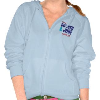I'm A Soccer & Wine Kinda Gal Sweatshirts